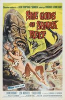 She Gods of Shark Reef movie poster (1958) picture MOV_807a904d