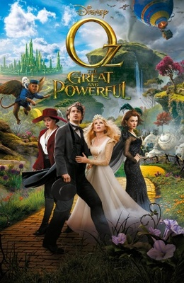 Oz: The Great and Powerful movie poster (2013) poster MOV_8081037a