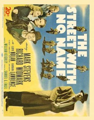 The Street with No Name movie poster (1948) poster MOV_8085df7a