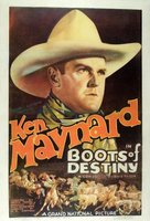 Boots of Destiny movie poster (1937) picture MOV_808a3b22