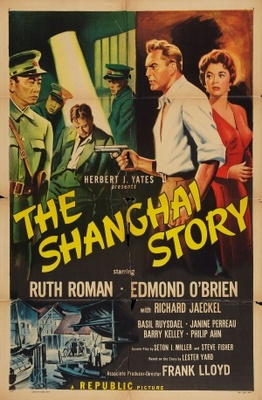 The Shanghai Story movie poster (1954) poster MOV_80a7070b