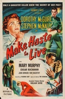 Make Haste to Live movie poster (1954) picture MOV_80af3828