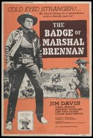 The Badge of Marshal Brennan movie poster (1957) picture MOV_80b2688a