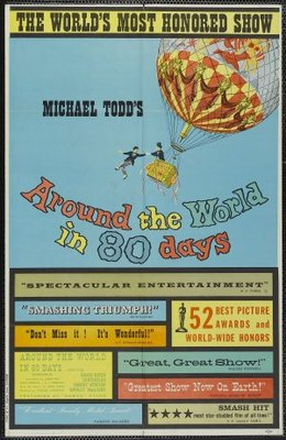 Around the World in Eighty Days movie poster (1956) poster MOV_80bacd56