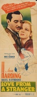 Love from a Stranger movie poster (1937) picture MOV_80ef494a