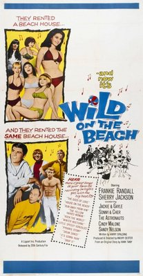 Wild on the Beach movie poster (1965) poster MOV_80f272aa