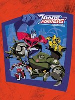 Transformers: Animated movie poster (2008) picture MOV_80f537a4