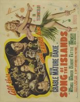 Song of the Islands movie poster (1942) picture MOV_8109cee2