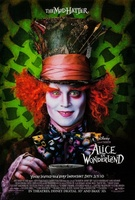 Alice in Wonderland movie poster (2010) picture MOV_810c52c1
