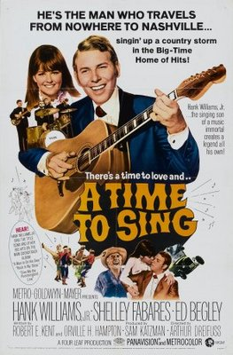 A Time to Sing movie poster (1968) poster MOV_811169f6