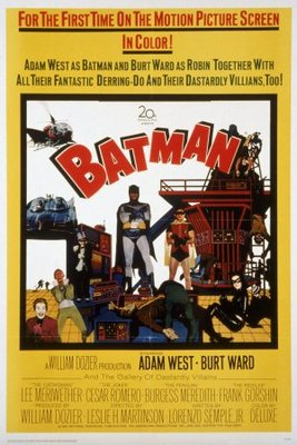 Batman movie poster (1966) poster MOV_81479357