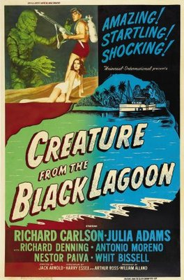 Creature from the Black Lagoon movie poster (1954) poster MOV_814d8306