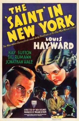 The Saint in New York movie poster (1938) poster MOV_81752af4