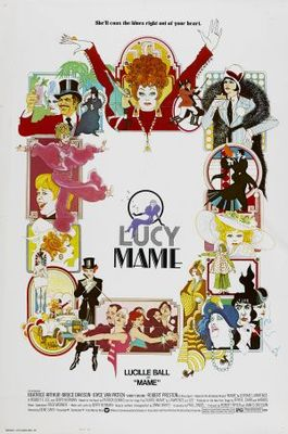 Mame movie poster (1974) poster MOV_8183e7a8