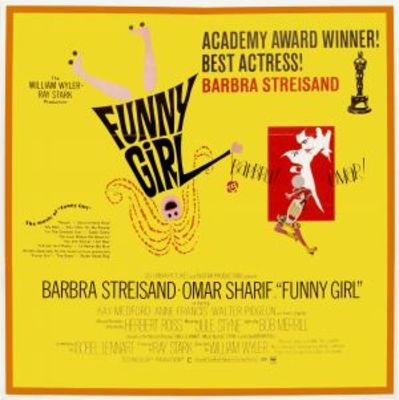 Funny Girl movie poster (1968) poster MOV_819c8ad3