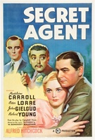Secret Agent movie poster (1936) picture MOV_819d28f2
