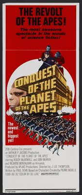 Conquest of the Planet of the Apes movie poster (1972) poster MOV_81a50310