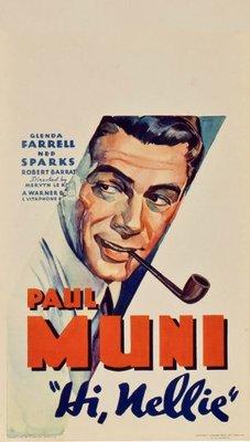 Hi, Nellie! movie poster (1934) poster MOV_81bbd251
