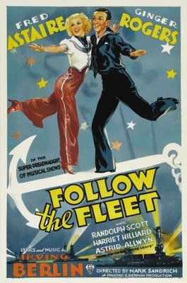 Follow the Fleet movie poster (1936) poster MOV_81bfc763