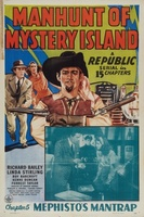 Manhunt of Mystery Island movie poster (1945) picture MOV_81c6b008