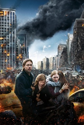 World War Z movie poster (2013) poster MOV_81c6de1b