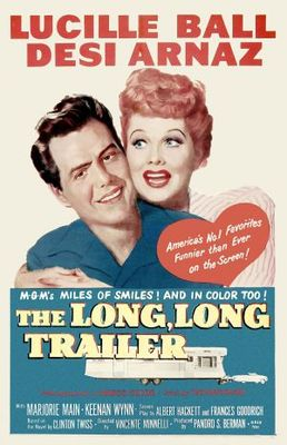 The Long, Long Trailer movie poster (1954) poster MOV_81c83b41