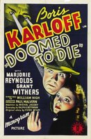 Doomed to Die movie poster (1940) picture MOV_81d79153