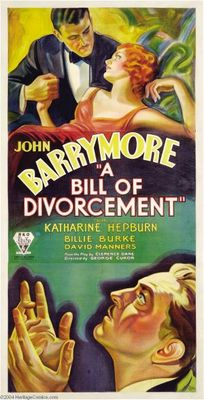 A Bill of Divorcement movie poster (1932) poster MOV_81ef5606