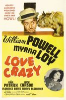 Love Crazy movie poster (1941) picture MOV_82001f8b