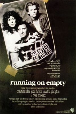 Running on Empty movie poster (1988) poster MOV_821e2b34