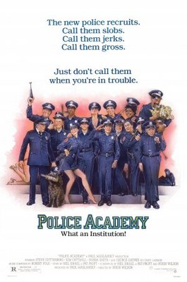Police Academy movie poster (1984) poster MOV_821ed5b7