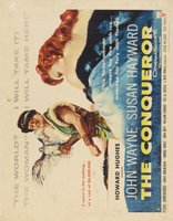 The Conqueror movie poster (1956) picture MOV_8227f961