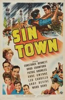 Sin Town movie poster (1942) picture MOV_8236932b