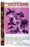 Cheyenne Autumn movie poster (1964) picture MOV_2ce0d787
