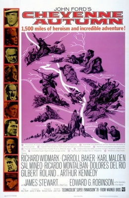 Cheyenne Autumn movie poster (1964) poster MOV_823a8ad1