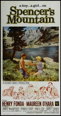 Spencer's Mountain movie poster (1963) poster MOV_824e28ba