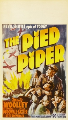 The Pied Piper movie poster (1942) poster MOV_824fbd7f