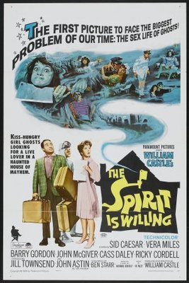 The Spirit Is Willing movie poster (1967) poster MOV_82952e2b