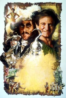 Hook movie poster (1991) poster MOV_829701c6