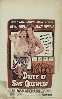 Duffy of San Quentin movie poster (1954) poster MOV_829a1226