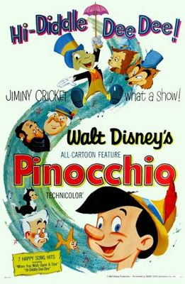 Pinocchio movie poster (1940) poster MOV_82a1125e