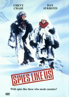 Spies Like Us movie poster (1985) poster MOV_82a726eb