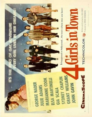Four Girls in Town movie poster (1957) poster MOV_82c71ba0