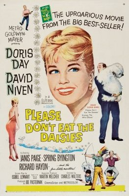 Please Don't Eat the Daisies movie poster (1960) poster MOV_82e67290