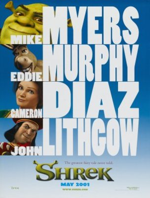 Shrek movie poster (2001) poster MOV_82fb085f