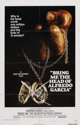 Bring Me the Head of Alfredo Garcia movie poster (1974) poster MOV_8313acef