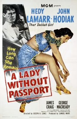 A Lady Without Passport movie poster (1950) poster MOV_83186ddb