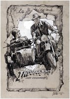 Indiana Jones and the Last Crusade movie poster (1989) picture MOV_832a1177