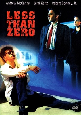 Less Than Zero movie poster (1987) poster MOV_8354b492
