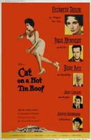 Cat on a Hot Tin Roof movie poster (1958) picture MOV_836167a0